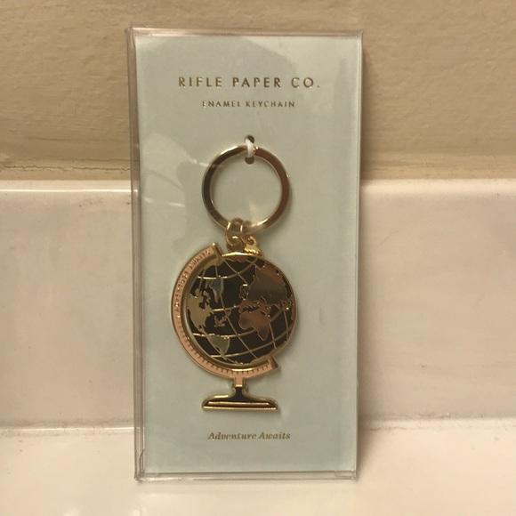 Rifle Paper Co Globe Keychain Nwt